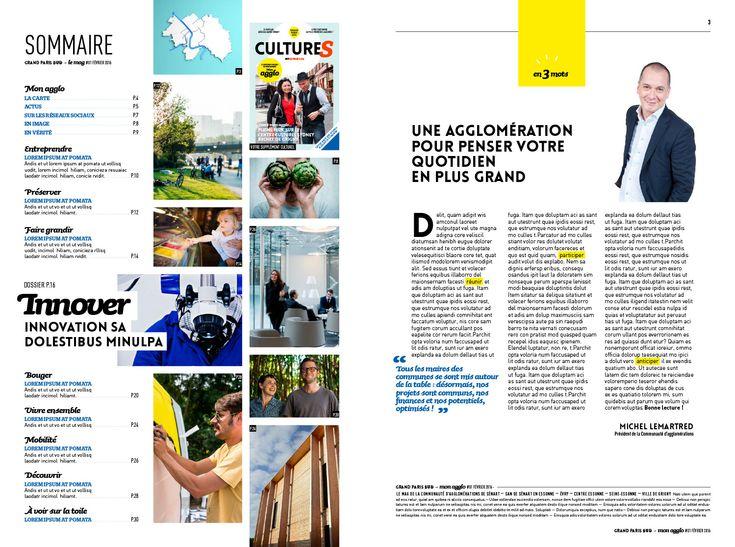 Grand Paris Sud - le mag Archives - studio de création