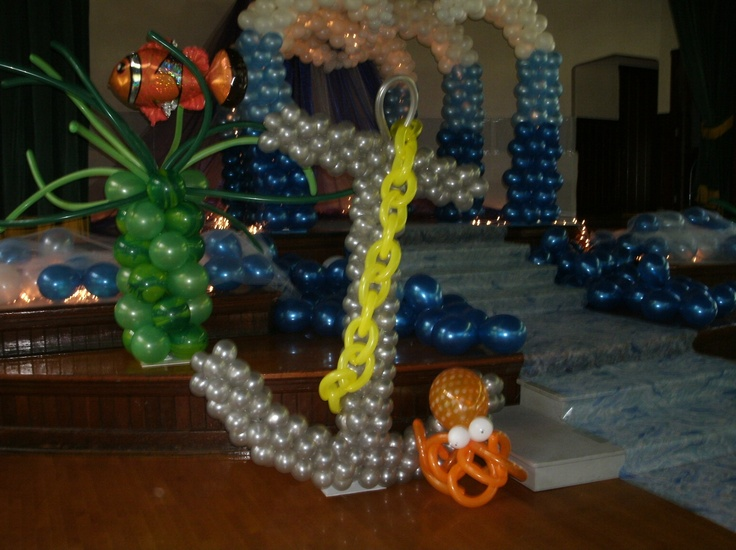 Under the sea prom decor