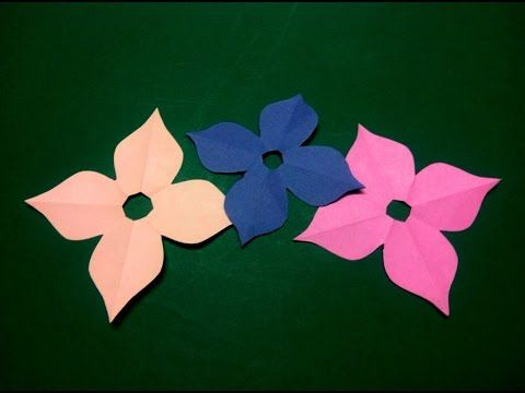 19 best kirigami paper cutting images on pinterest kirigami paper cutting and craft videos for Easy paper cutting flowers