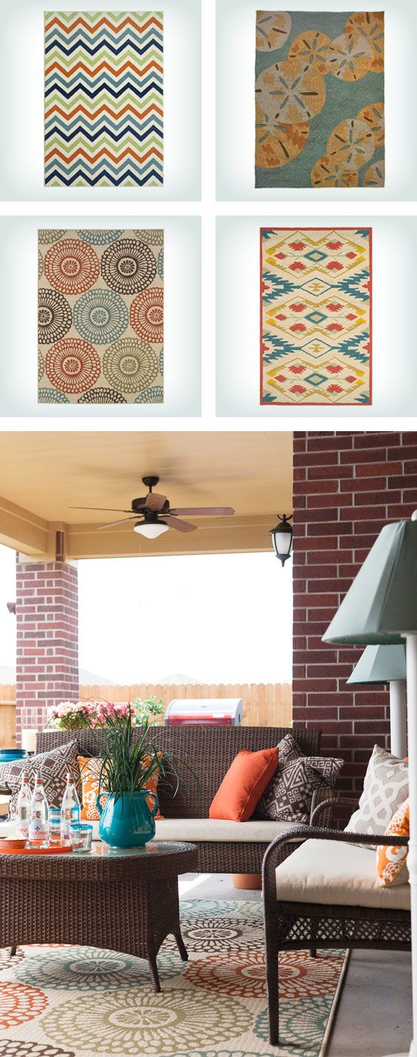 Outdoor Rugs Are A Great Way To Add Color U0026 Pattern To Your Patio And Create