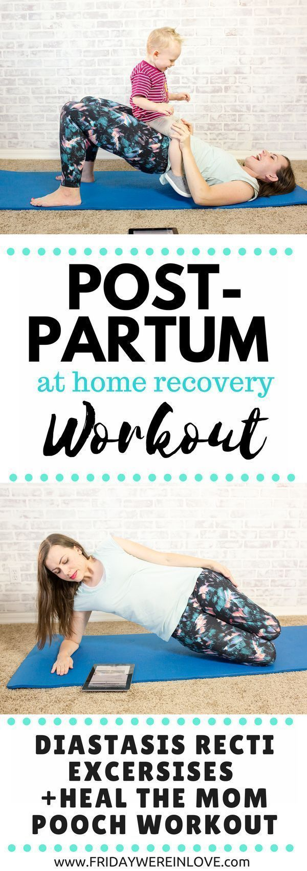 Postpartum Fitness: A Postpartum Workout to heal Diastasis Recti