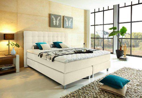Modell Rockstar von WELCON: Luxus Boxspringbett 180x200 Härtegrad H3 in beige inkl. Topper - Premiumklasse für 5 Sterne Hotels - günstig direkt vom Importeur