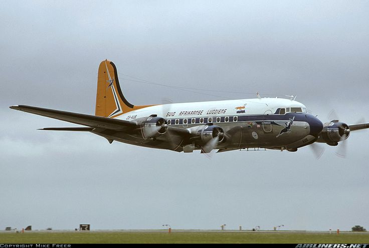 South African Airways ZS-AUB 'OUTENIQUA' Douglas DC- 4 Skymaster
