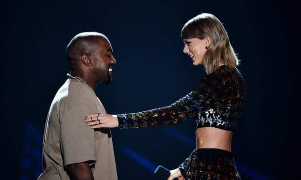 Kanye West V Taylor Swift Turns Political Who Is Winning At This Point Taylor Swift New Album Taylor Swift Kanye West Kanye West