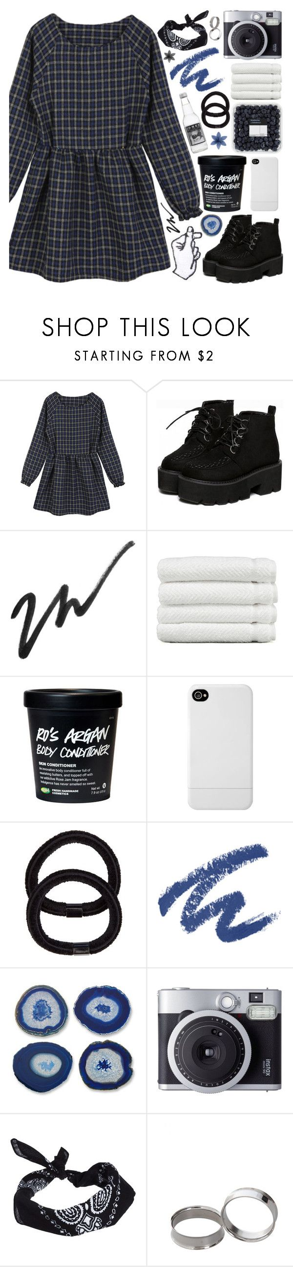 """""""[🔪] you'll never burn me out"""" by korekara ❤ liked on Polyvore featuring Linum Home Textiles, Incase, John Lewis, Revlon, Fujifilm, ASOS and Hot Topic"""