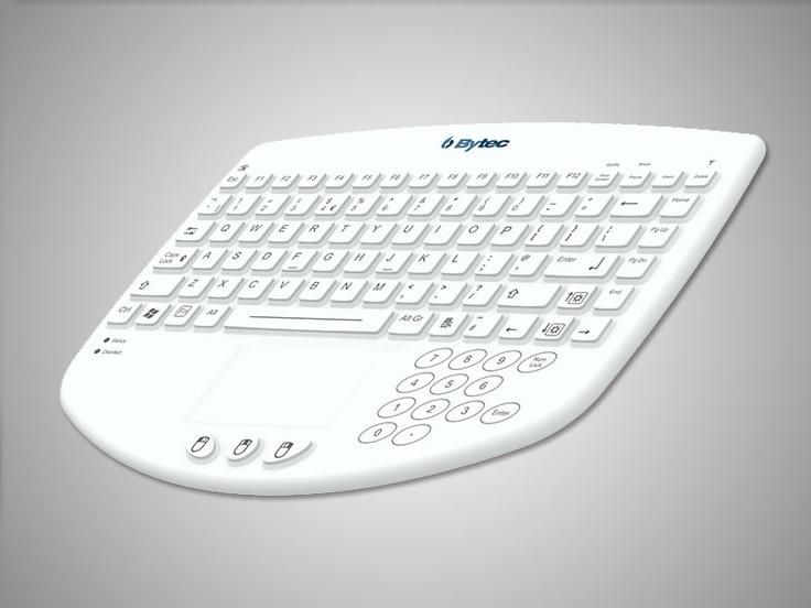 Medi-Key Wireless Waterproof Keyboard