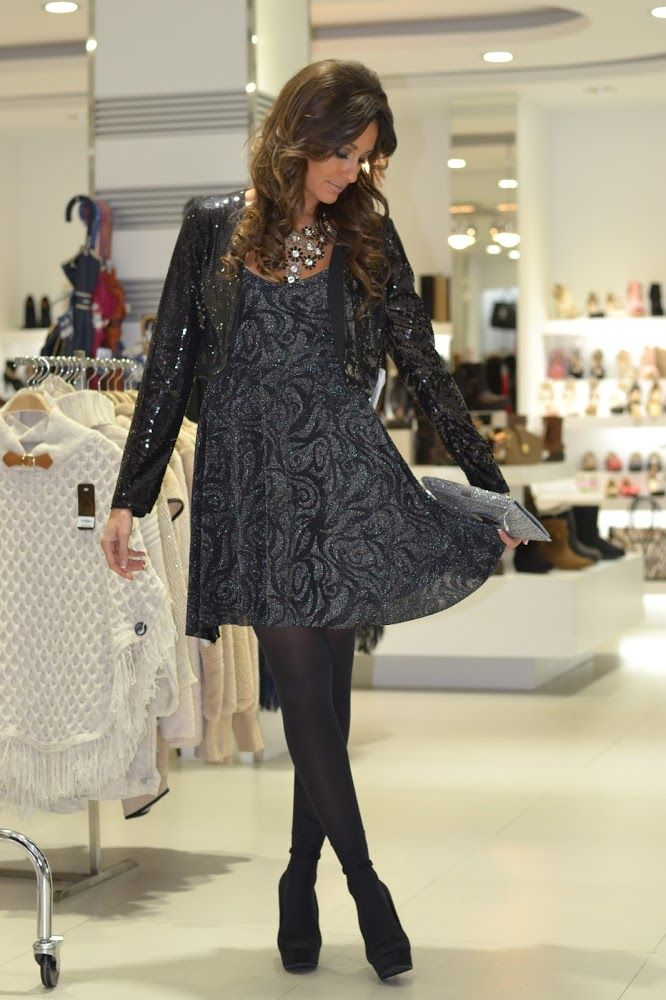 Mery Trendy: diciembre 2014 #black #pantyhose #blogger #heels #stiletto