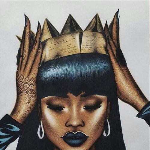 574 best Black Girl Art.! images on Pinterest | Black ...