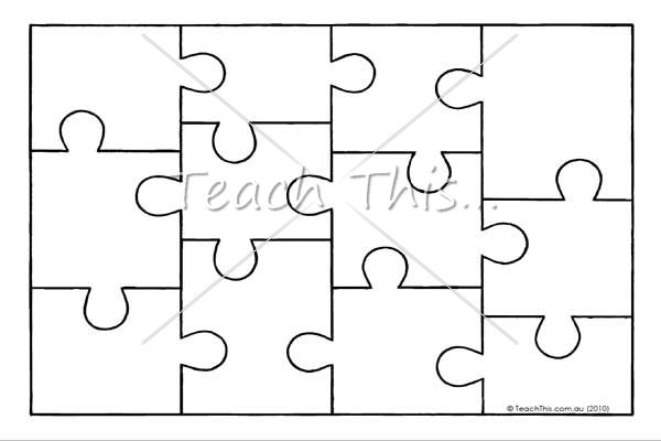Accomplished image intended for printable jigsaw puzzle template