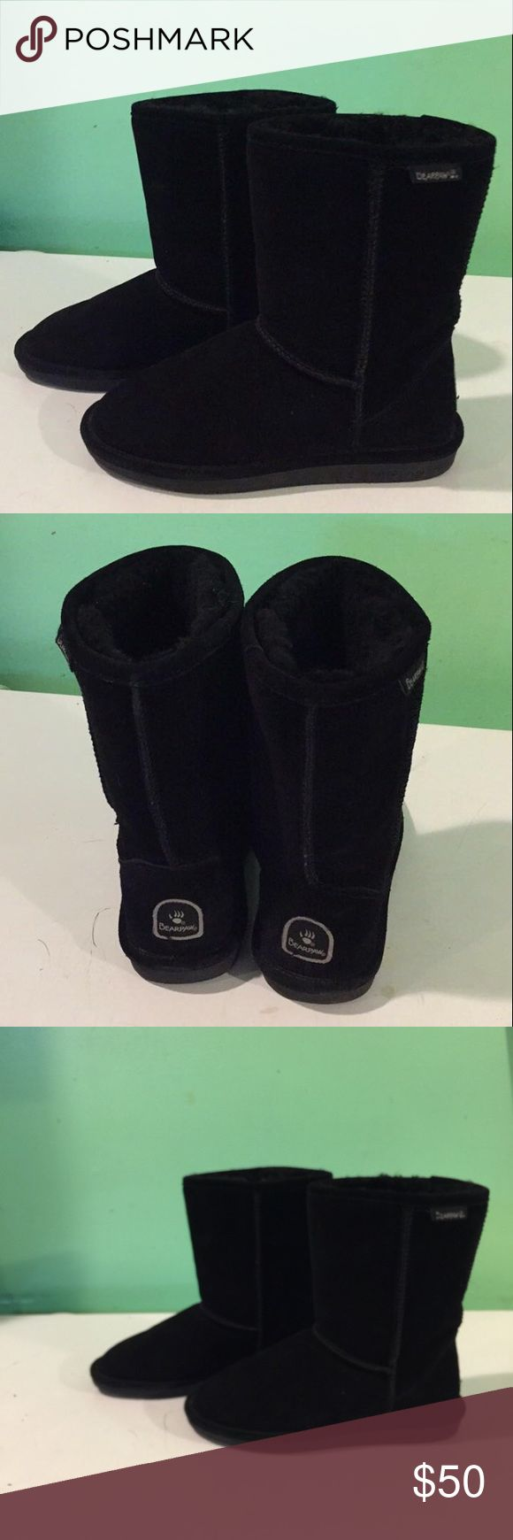 Bear paw boots Black beer paw boots BearPaw Shoes Winter & Rain Boots