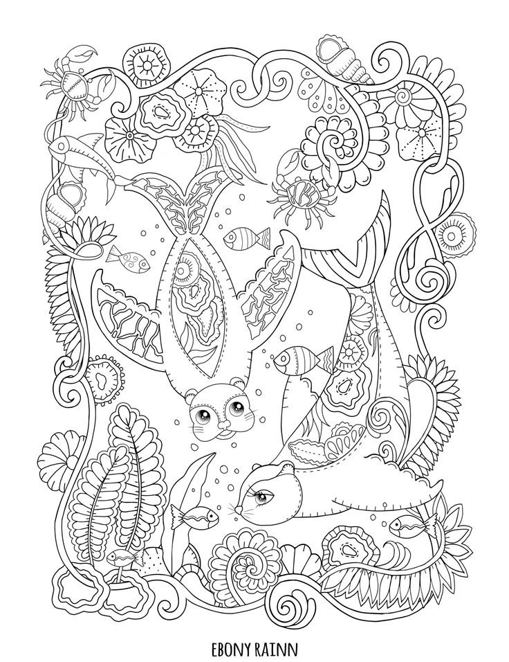 Free Coloring Pages By Ebony Rainn
