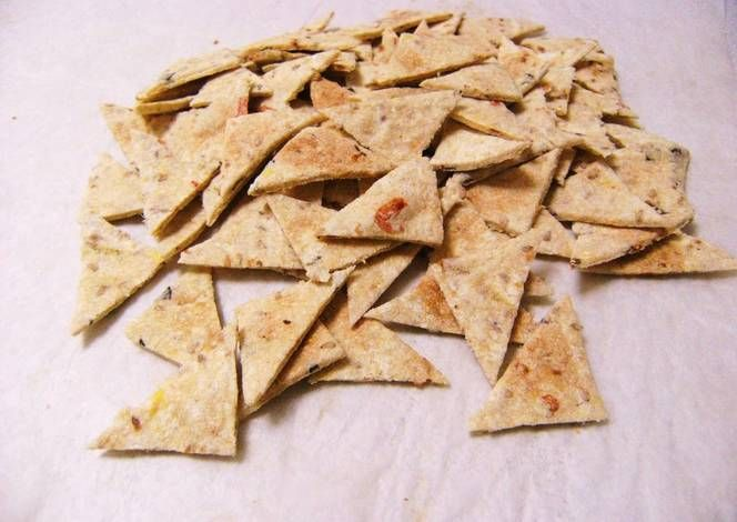 Easy Crunchy Okara Crackers
