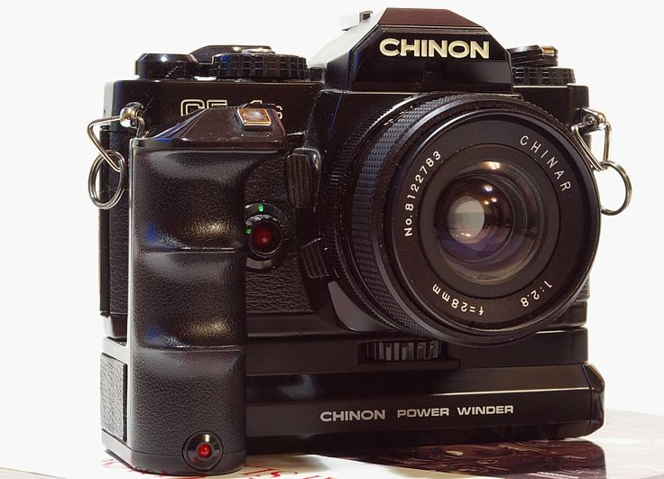 One of my all time favorites, CHINON CM4S with winder (thread mount lenses) sweet camera, great pictures.