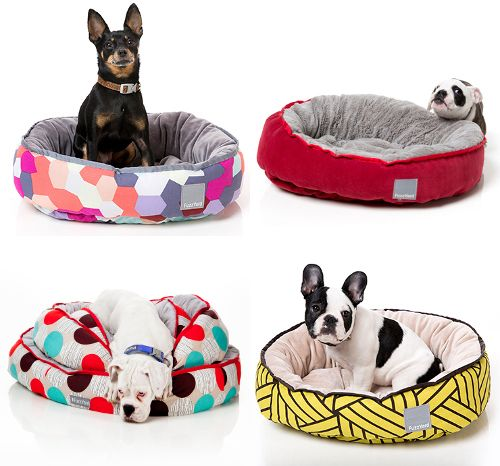 I really wish I could find this stuff here in the states. Modern Dog Beds from FuzzYard