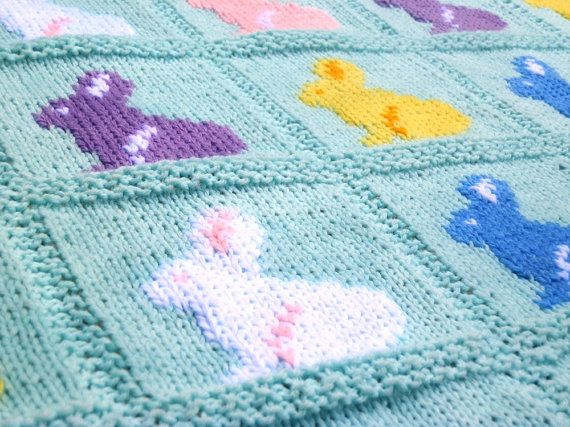 131 best the purple porcupine knitting sewing images on pinterest knitting pattern bunny blanket rabbit by thepurpleporcupine negle Image collections