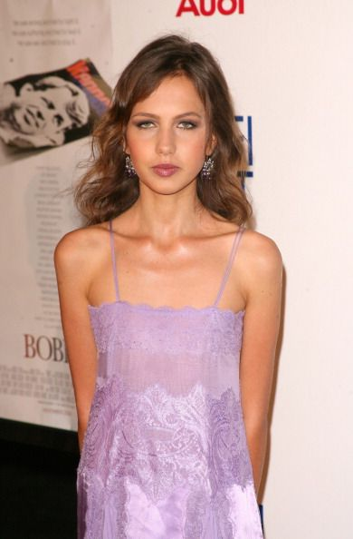 versace 2006 style | Allegra Versace during AFI Fest 2006 Black Tie Opening Night Gala and ...