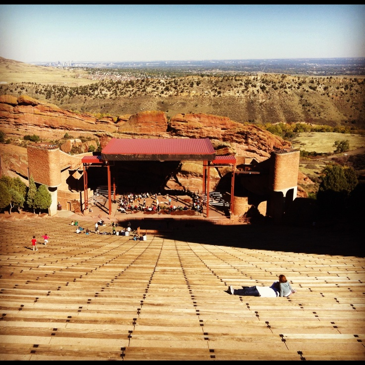 Red Rocks Hitheater Red Rocks Amphitheater A Gypsy Has