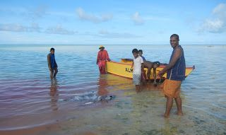 Kiribati. 7th least visited country in the world.