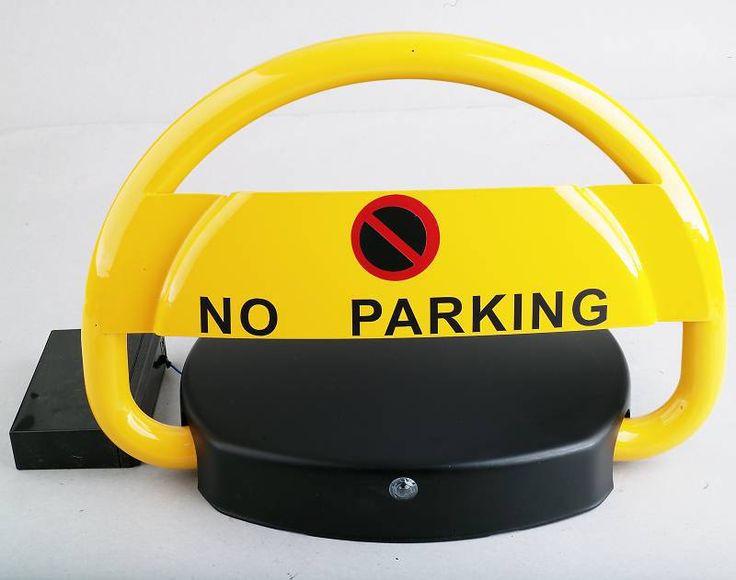 430mm télécommande automatique parking barrière/batterie puissance stationnement poste borne à espace de stationnement de réserve