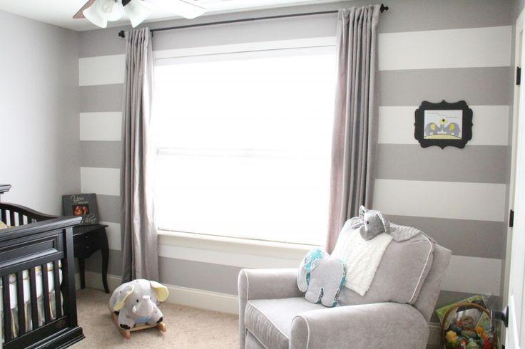25+ Best Ideas About Grey Striped Walls On Pinterest