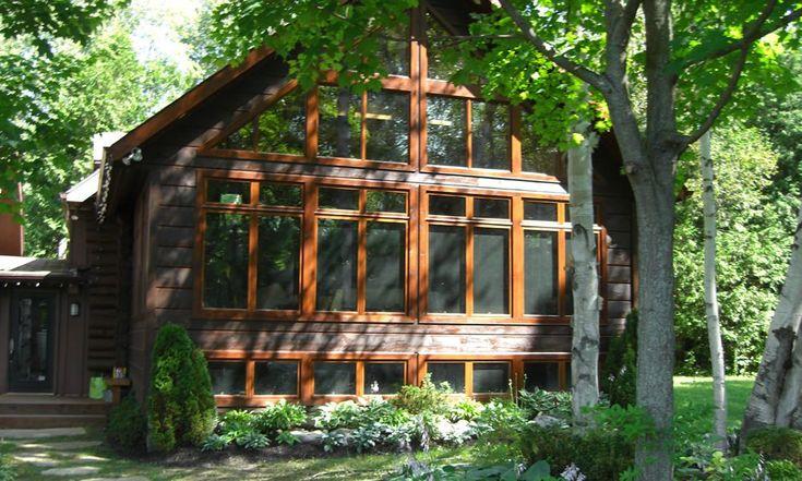 The Sunset | Confederation Log & Timber Frame