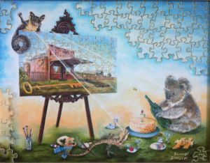 'Enjoying Life' could bring together your investment, leadership and artistic aspirations within a fun painting celebrating creation. It presents a rare, light-hearted, visual and investment opportunity- http://davsonarts.com/investment-in-art/investment-opportunities/