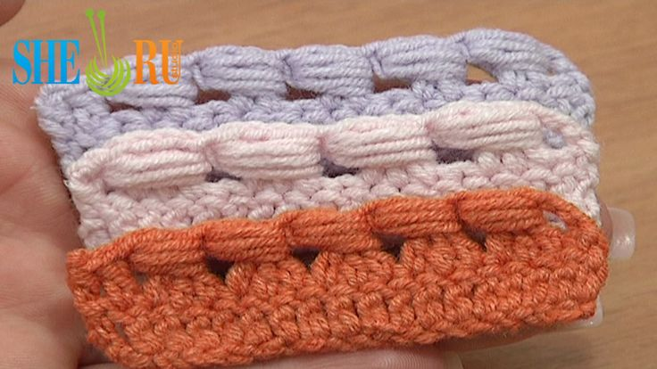 Crochet The Puff Stitch Around Posts Tutorial 39 Around Decrease Stitch  http://sheruknitting.com/videos-about-knitting/crochet-for-beginners/item/220-crochet-fundamentals.html In this free video tutorial you will see how to crochet the puff stitch around the 2 double crochet posts, 3 double crochet posts and around posts of a 3-double crochet decrease stitch. Easy and fast to work. You can make the puff stitch around even more and taller posts. Thanks for watching!