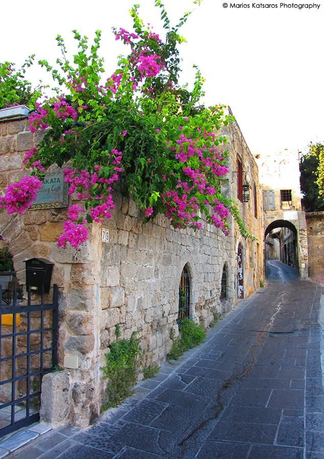 At the old town of Rhodes