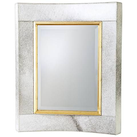 Wall Mirror, 30 X 36 Gold Framed Mirror