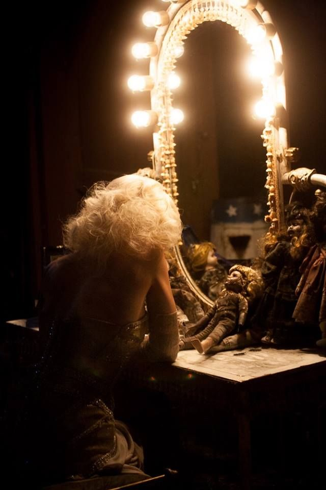 'I can't believe I'm allowed to post this! This still from #AlleluiaTDC tells the story of the film... @devilscarnival' Emilie Autumn on Facebook
