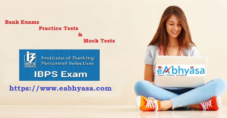 Prepare for all #BankExams Online Test Series for #IBPS PO, #SBI PO, IBPS RRB with eAbhyasa Portal. We are regularly updates mock tests in accordance with the latest exam pattern.   Our Rich content along with the #student friendly online exam portal provides mock tests that are closest to the actual tests.   Practice Now: https://www.eabhyasa.com/exams/bank-exams