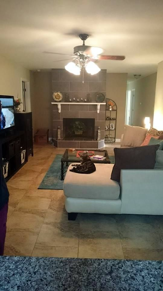 Teal Accent Wall On The Fireplace Teal Accent Walls House Design New Home Designs