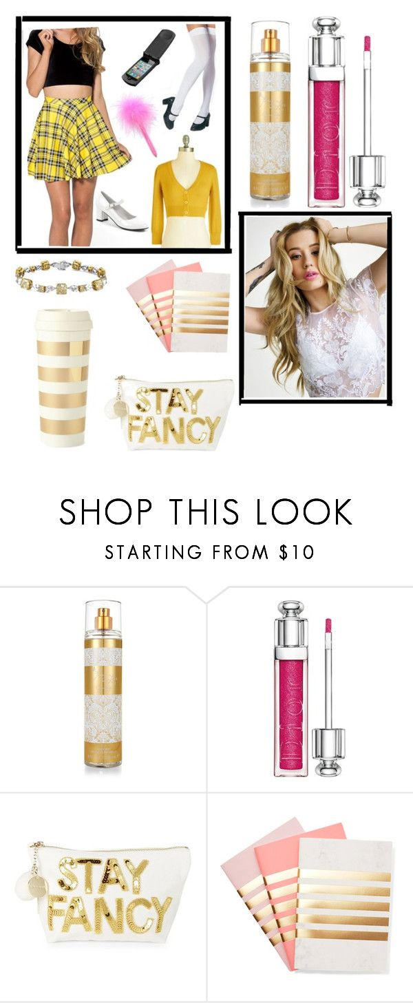 """Fancy By Iggy Azalea"" by amartin10 ❤ liked on Polyvore featuring Jessica Simpson, Christian Dior, Bow & Drape, StudioSarah and Kate Spade"