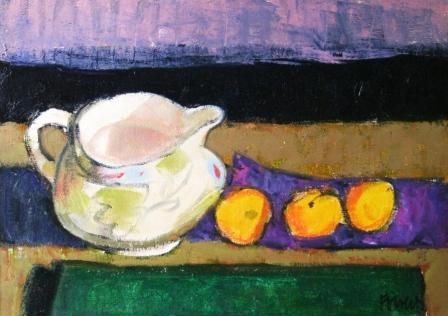 Archie FORREST-Apricot and Jug