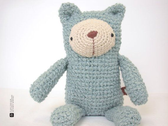 The Little Blue Bear by eveluche