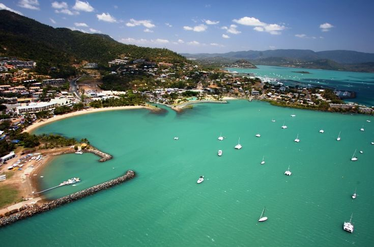 Stunning Airlie Beach in the Whitsundays #whitsundays #airliebeach #greatbarrierreef #luxury