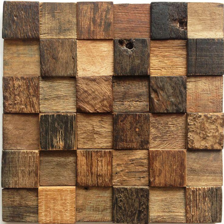 Funaki-mosaic-wood-weathered-wood-restaurant-bar-backdrop-decoration-materials-building-materials-decoration-antique-wooden-XMF.jpg 900×900 pixels