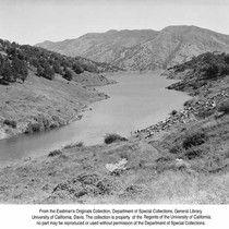 Berryessa Lake, Monticello Dam, Calif