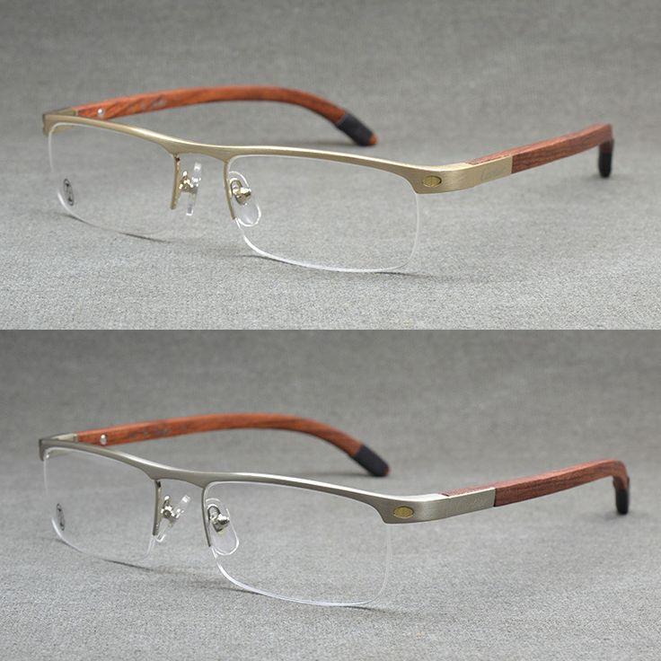 Top Quality Rimless Gold Men Eye Glasses Frame Vintage
