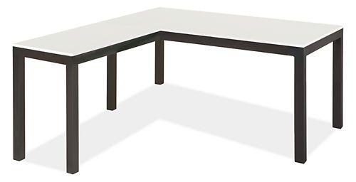 Parsons L-Shape Desks - Desks - Office - Room & Board