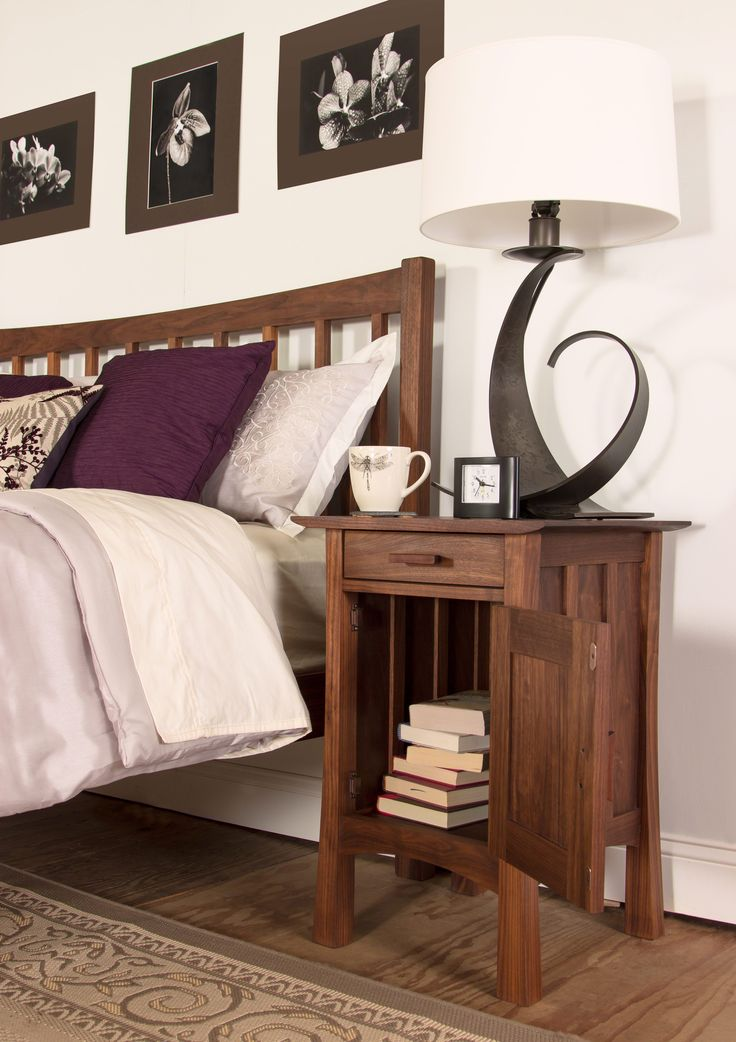 Superior Contemporary Craftsman Nighstand In Walnut Wood. Walnut Furniture Is Sleek,  Beautiful, And Ultra