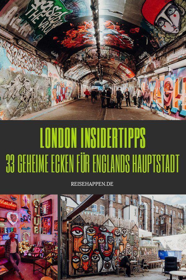 London Insidertipps – 47 geheime Ecken für Englands Hauptstadt