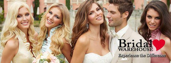 {Bridal Party Looks   How to Choose the Wedding Attire}    The Pink Bride www.thepinkbride.com    Image courtesy of the Bridal Warehouse Facebook page.    #nashville #tennessee #weddingdress #weddingattire #bridalstore #bridalshop #tuxedo #tuxedorental #bridesmaiddress #motherofthebride #motherofthegroom