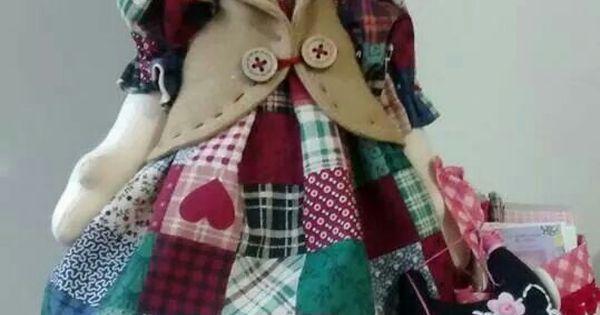 Muñecas irma | muñecas | Pinterest | Cute Dolls, Patchwork Dress and Scrap Fabric