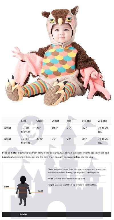 Kids Costumes: Owlette Pink Infant Owl Halloween Costume BUY IT NOW ONLY: $31.95