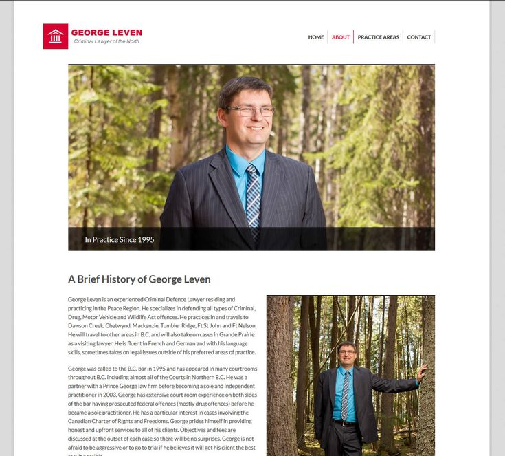 George Leven - Criminal Defence Lawyer of the North || New website and photos