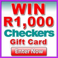 WIN R1,000 Checkers Voucher  http://pampermenow.co.za/checkers-win