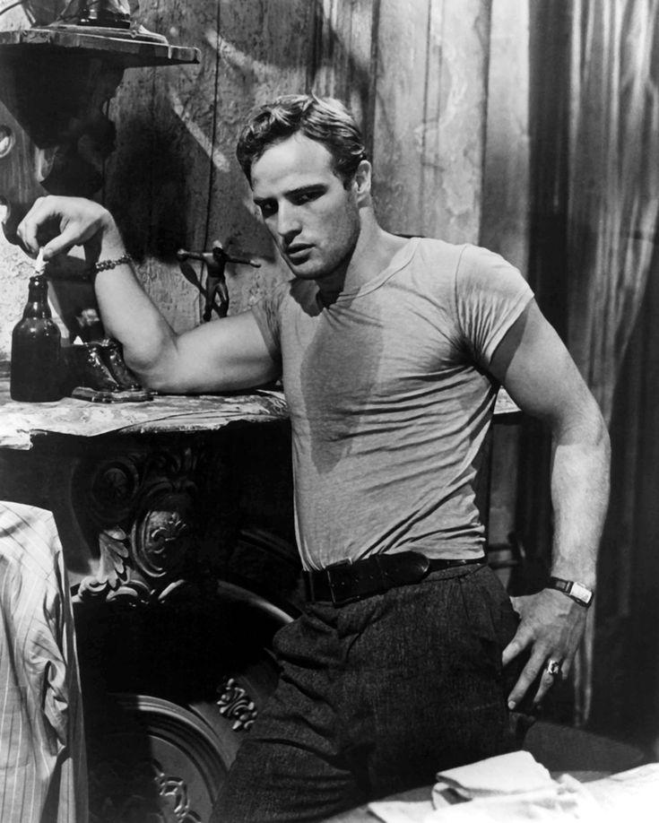 Marlon Brando dans Un tramway nommé désir,1951. © Bridgeman images