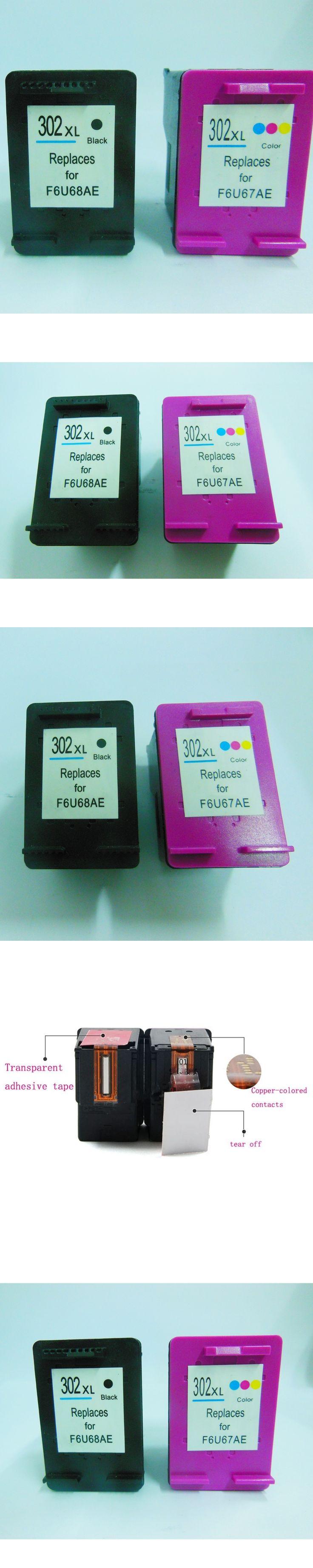 1set 302xl For HP 302 Ink Cartridge For HP DeskJet 2130 1110 ficejet 3630 3830 4650