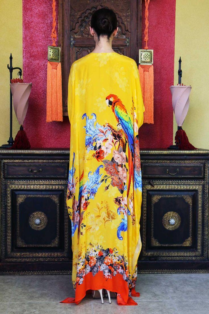 Find Silk Kaftans 50% Off | Designer Kaftan Dress - Shahida Parides